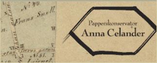 Papperskonservator Anna Celander