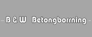 B & W Betongborrning AB