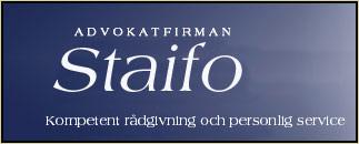 Advokatfirman Staifo AB
