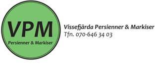 Vissefjärda Persienner & Markiser (vpm)