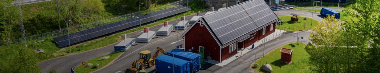 Återvinningscentralen Arkelstorp - Gaturenhållning, Avlopps- & Avfallshantering, Återvinning
