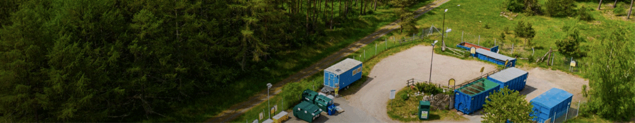 Återvinningscentralen Degeberga - Återvinning, Gaturenhållning, Avlopps- & Avfallshantering