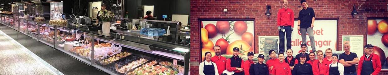 ICA Supermarket Hjärnarp - Postens Postombud, Spel & Lotterier, Livsmedelsbutiker, Catering