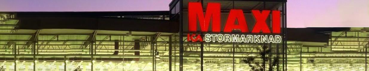 ICA Maxi Skellefteå - Postens Frimärksombud, Spel & Lotterier, Livsmedelsbutiker