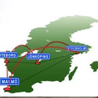 Flytta i Sverige