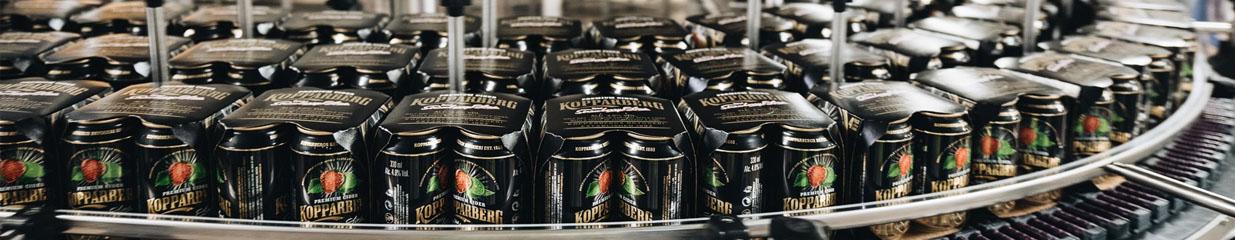 Kopparberg Bryggeri AB - Dryckesvaruindustrier, Bryggerier, Vin- & Spritproducenter, Mineralvatten- & Läskedryckesindustrier