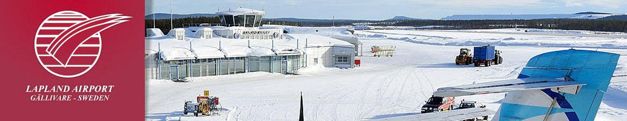Gällivare Lapland Airport - Flygplatser, Flyg