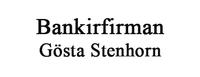 BANKIRFIRMAN GÖSTA STENHORN