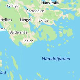 nämdöfjärden karta Interaktiv karta   hitta.se nämdöfjärden karta