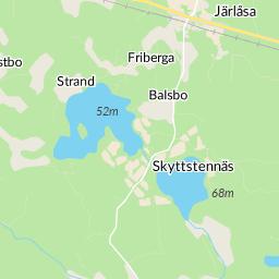 karta järlåsa Ribbingebäck, Järlåsa karta   hitta.se karta järlåsa