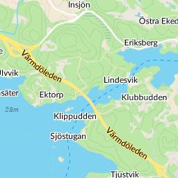 ektorp karta Ektorp Saltsjö Duvnäs karta   hitta.se ektorp karta