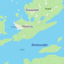 harö karta Eknö Harö karta   hitta.se harö karta