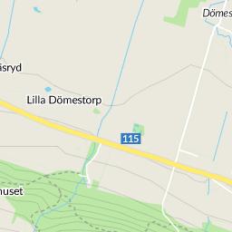 östra karup karta Postridarens Väg, Östra Karup karta   hitta.se östra karup karta