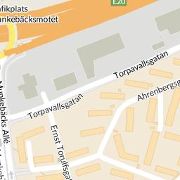 torpavallen göteborg karta Interaktiv karta   hitta.se torpavallen göteborg karta