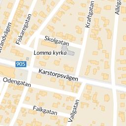 lomma kyrka karta Interaktiv karta   hitta.se lomma kyrka karta