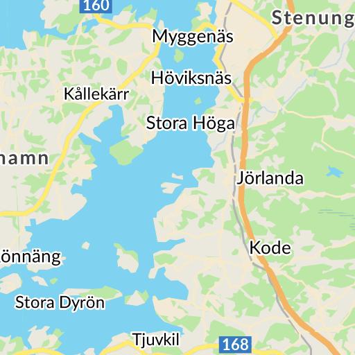 Postnummer Karta Skane.Kungalv Karta Hitta Se