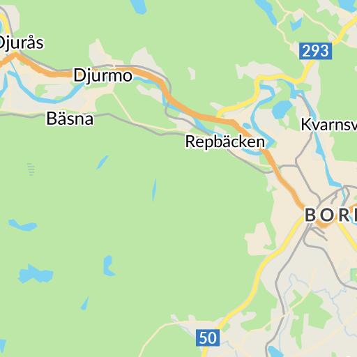 Karta Sverige Borlange.Borlange Karta Hitta Se