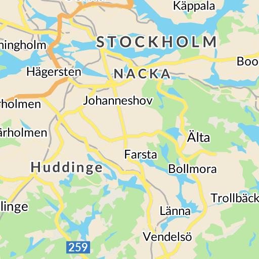 b45844e665c Interaktiv karta - hitta.se