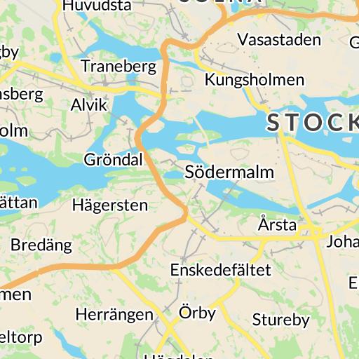 Karta Stockholms Universitet.Interaktiv Karta Hitta Se