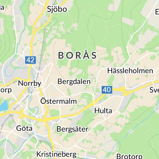 Karta Boras Camping.Viared Boras Karta Hitta Se