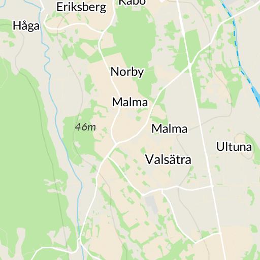 Karta Och Avstand.Haga Uppsala Karta Hitta Se
