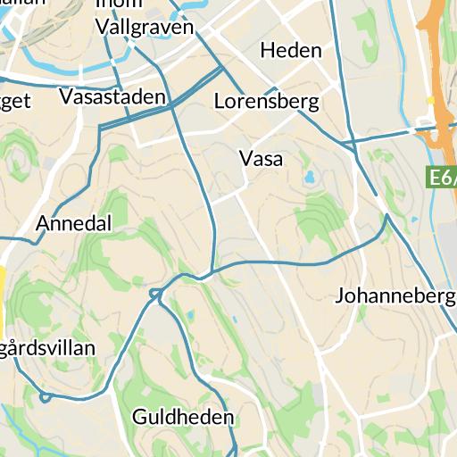 Karta E6 Goteborg.Linnestaden Goteborg Karta Hitta Se