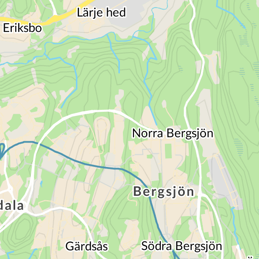 Karta E6 Goteborg.Kortedala Goteborg Karta Hitta Se