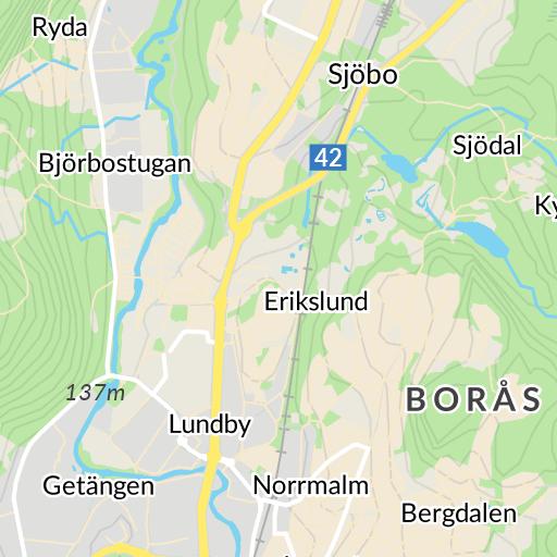 Karta Boras Camping.Norrby Boras Karta Hitta Se