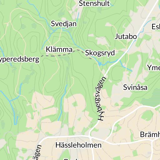 Karta Boras Camping.Sjobo Boras Karta Hitta Se