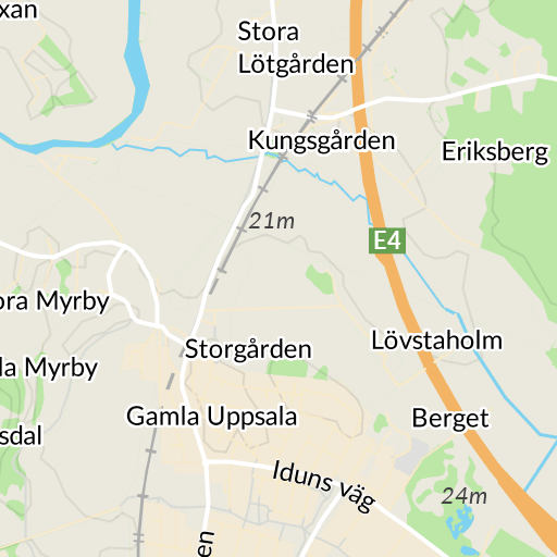 gränby centrum karta