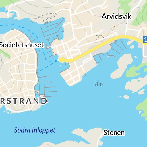 karta marstrand med omnejd