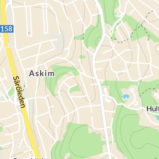 Karta Over Postnummer Sverige.Bifrost Molndal Karta Hitta Se