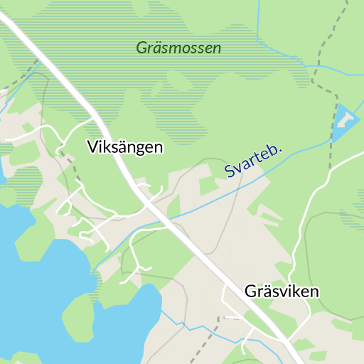 Karta Vanersborg.Hjortetorp Vanersborg Karta Hitta Se