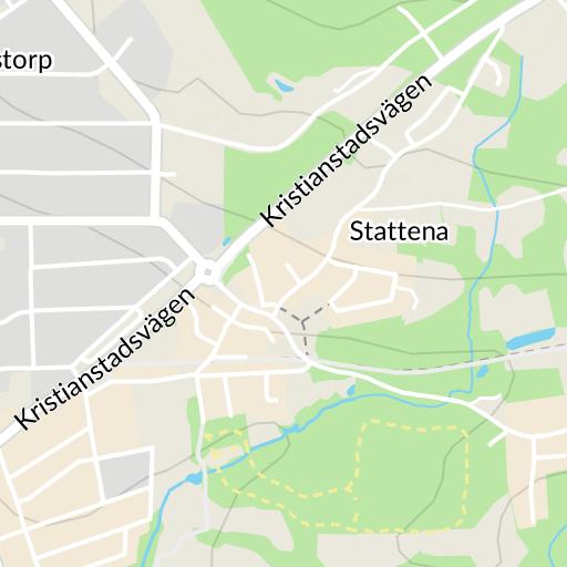 karta över vollsjö
