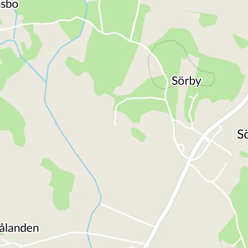 karta över vinslöv