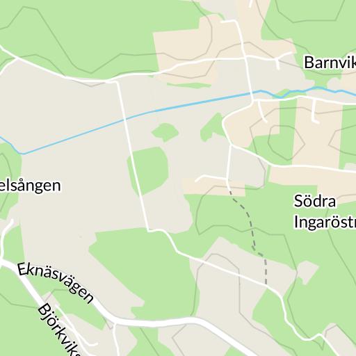 karta över ingarö