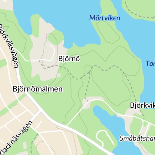 björkviks brygga karta