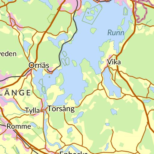 Karta Sverige Borlange.Ostermalm Borlange Karta Hitta Se