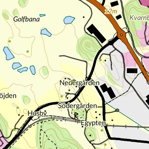Friluftskarta över Thuns hitta.se