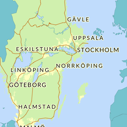 Karta Blekinge Skane.Blekinge Lan Karta Hitta Se